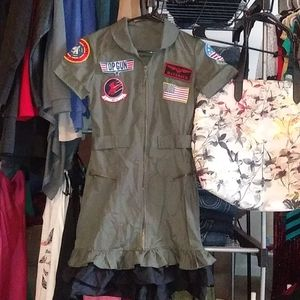 Top Gun Outfit with Boots
